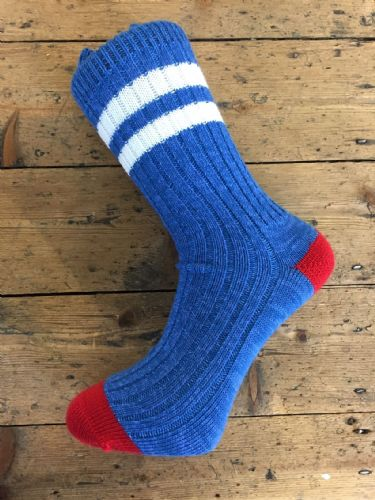 Mens Gift Ideas | Mens Grey Socks | Made by The Bradford Sock Company | Quality Wool Socks